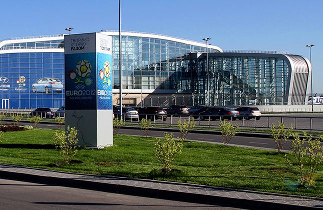 נמל התעופה • לבוב