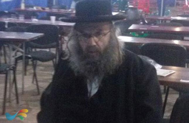 הרב ישראל מאיר גבאי  ניצל בדרך נס מתאונת דרכים בדרך לאומן