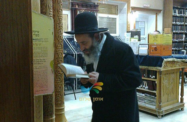 """הרב יצחק פנגר שליט""""א  הגיע אמש (שלישי) לאומן עם קבוצה של 60 נשים"""