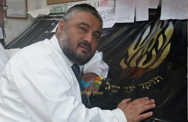 ראש עיריית בית שמש הרב משה אבוטבול עשה את השבת בציון