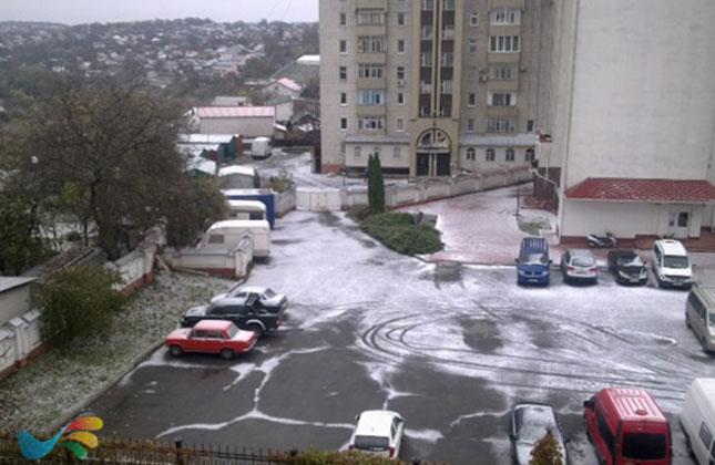 שלג ראשון באומן – החל לרדת שלג ראשון באומן, בשבת צפוי להיות קר