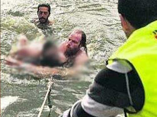 """סיפור מזעזע שהתרחש לפני 5 שנים של חסיד ברסלב שיצא לטבול ב""""נהר הדמים"""" באומן"""