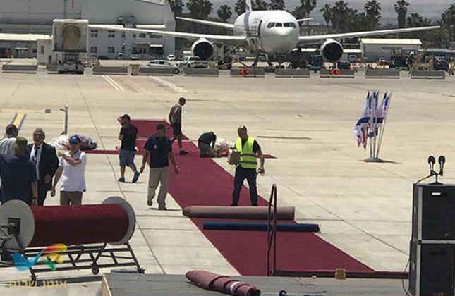 """נוסעים לאומן שימו לב שינויים צפויים בנתב""""ג • בשל ביקורו של הנשיא טראמפ"""