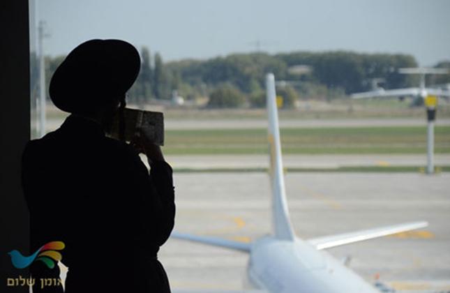 נקמה מתמשכת? עשרות חסידי ברסלב מעוכבים בשדה התעופה בוריספול בקייב