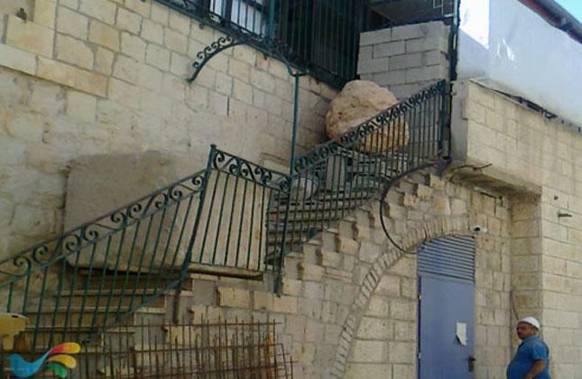 הרס ופוגרום בבית הכנסת של חסידי ברסלב בירושלים