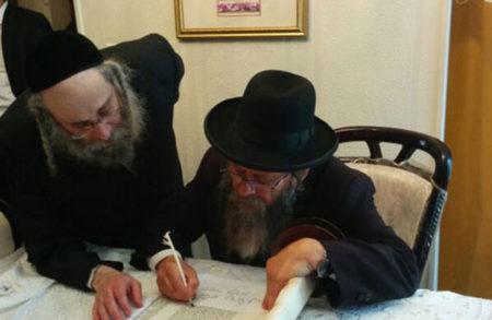 תתקיים חגיגת הכנסת ספר תורה לבית הכנסת ברסלב בקריה החרדית בבית שמש