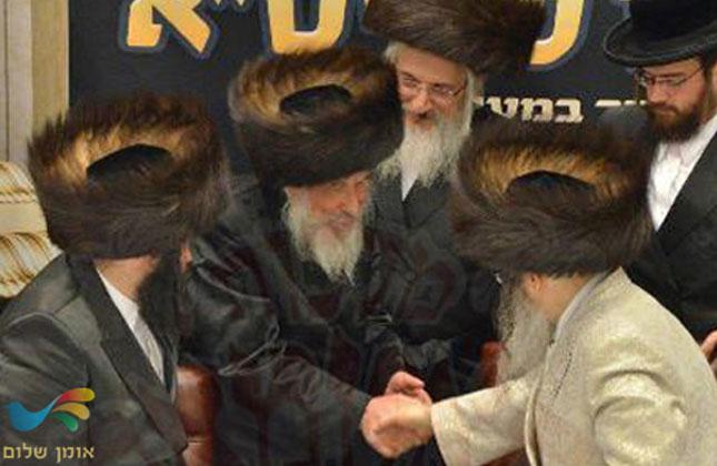 """הרה""""ח ר׳ משה קרמר שליט""""א בשמחת שבע ברכות אצל האדמו""""ר מסאטמר"""