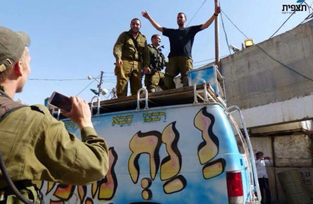 שני אברכים חסידי ברסלב ששמחו חיילים בגבול נפצעו מנפילת פצצה