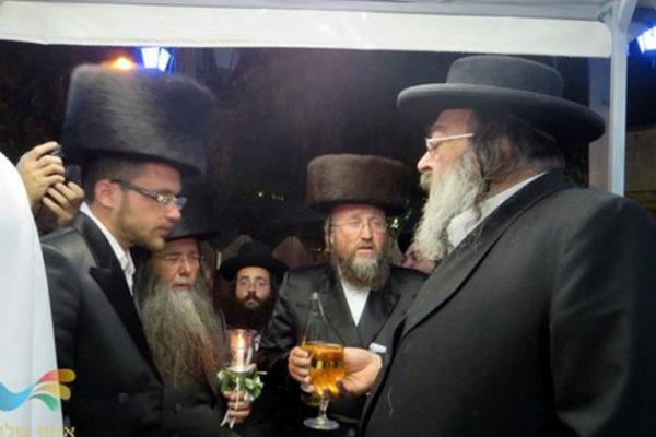 """חתונת הבחור יהודה הורביץ נין הרה""""ח ר' שמואל זצ""""ל"""