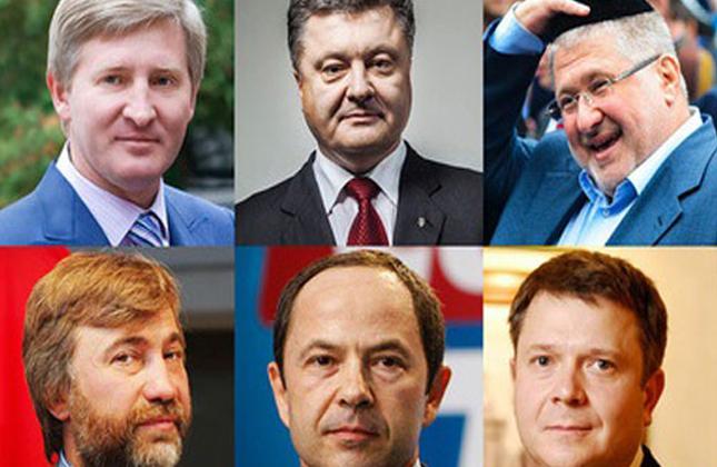 אוקראינה מציגה דירוג של 5 האנשים העשירים ביותר באוקראינה, 3 מהם יהודים