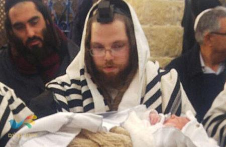 """ברית בציון הרשב""""י לנכדו של הרב נחום סולארש הי""""ו"""