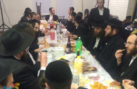 """יומא דהילולא של משה רבינו ע""""ה בבית הכנסת ברסלב לעיקווד"""