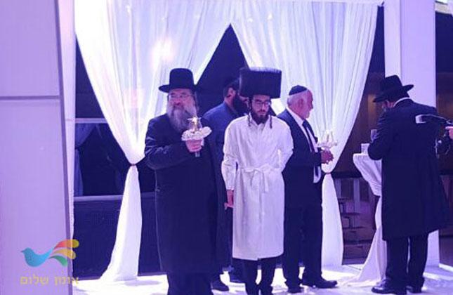 """חתונת בנו של ראש מוסדות """"אהבת משה"""" הרב ניסים כלפא שליט""""א"""