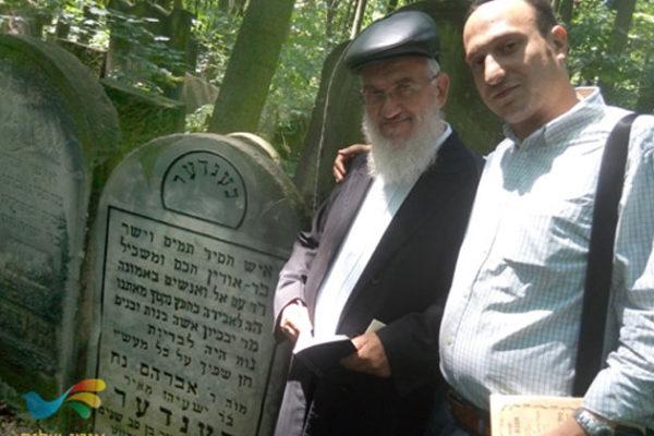 """נחשף מקום קבורת אברהם נח בנדר זצ""""ל אביו של ר' לוי יצחק בנדר זצ""""ל"""