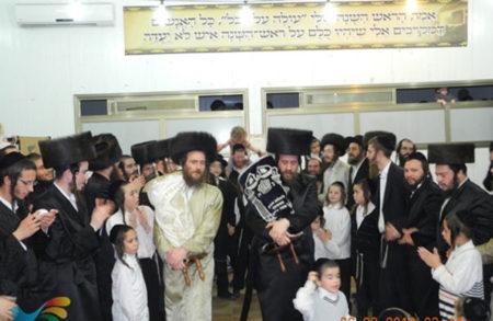 הזמנה של מצוה לכבודה של תורה • ביום שלישי בבית הכנסת ברסלב 'אנשי הצדיק