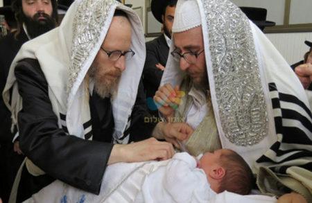 """ברית מילה לבנו של הרב יעקב משה הורוויץ הי""""ו"""