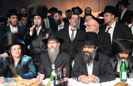 אלפים השתתפו אמש בחתונת בת הרנטגן עם בן הרב יוסף קרדונר