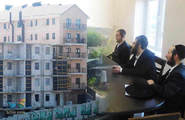 """נפתחה קהילת ברסלב חדשה מול ציון רבינו הק' סמוך לקלויז של מוהרנ""""ת באומן"""