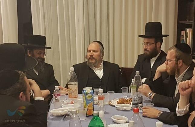 """הרב אברהם ליפשיץ מונה לנציג חסידי ברסלב ויו""""ר לשכת פניות הציבור בביתר"""