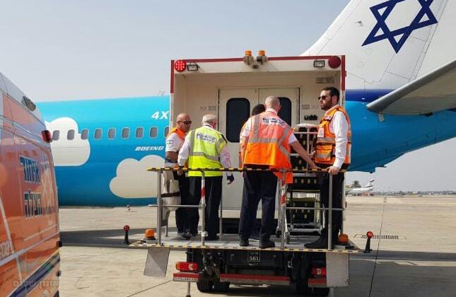 מתנדב של איחוד הצלה באומן נפל מגובה ופונה לבית חולים בישראל