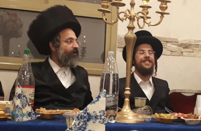 """שמחת האירוסין לבתו של ראש חבורת """"אור הצדיק"""" דבני ארה""""ב בירושלים"""