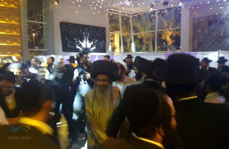 """שמחת החתונה לנכדת ראש מוסדות חוט של חסד הרה""""ח רבי שלום ארוש שליט""""א"""