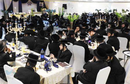 """מעמד סיום משנה ברורה חלק ב' ותחילת לימוד הלכות שבת בקהילת """"קרן אור"""""""