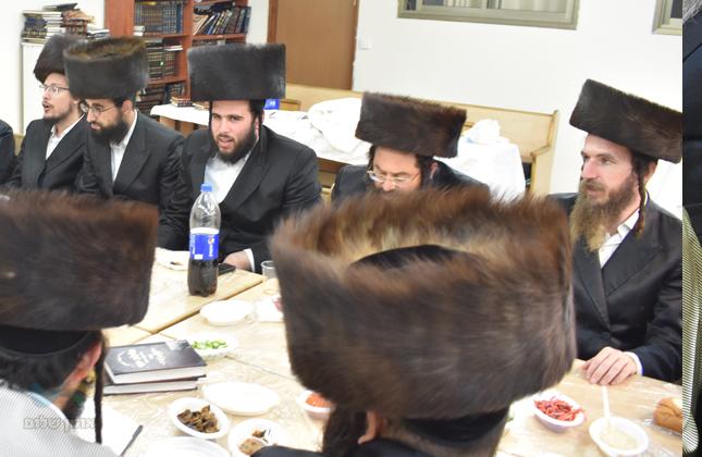 כינוס חיזוק אצל אנשי שלומינו דחסידי ברסלב בבית הכנסת כולל ברסלב אלעד
