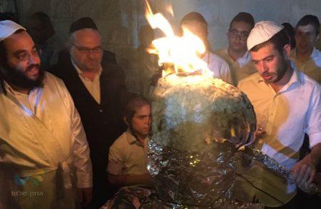 """הילולת רבינו הק' בשמואל הנביא בירושלים עם הרב ישראל פינטו שליט""""א"""