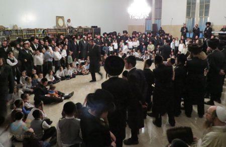 שמחת בית השואבה והילולת רבינו הק' בקהילת 'אנשי הצדיק' בית שמש
