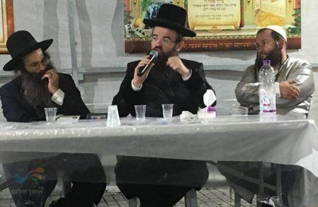 """הילולת רבינו הקדוש בקהילת """"לב הנחל"""" בעיר ראשון לציון"""