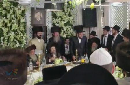 """חג הסוכות עם הרה""""צ רבי יעקב מאיר שכטער שליט""""א"""