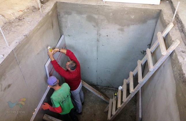 מקווה בוולדניק – עבודות הקמת מקווה סמוך לקברו של ר' ישראל דב מוולדניק