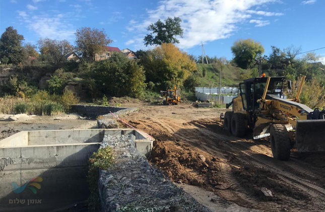 נהר התשליך באומן ישוקם ויורחב במסגרת פרוייקט עבודות הרחבת גן סופיה