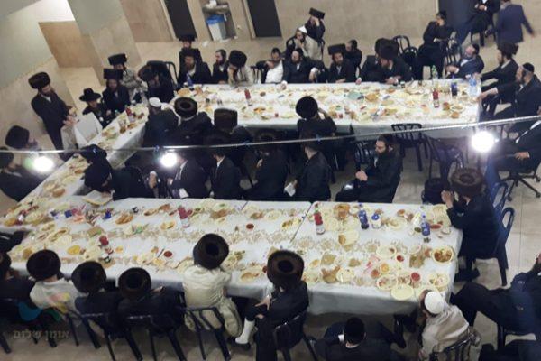 שבת התאחדות של קהילת קודש ברסלב ברכפלד – מודיעין עילית בעיר נתיבות