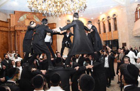 """שמחת בית השואבה בקהילת הננמ""""ח – ברסלב בעיר הקודש צפת"""