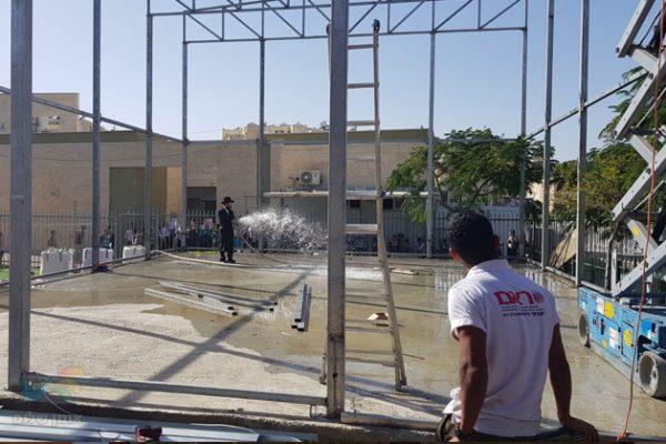 """באלעד בוערת אש • המקורבים החדשים באלעד הקימו ביהכנ""""ס ברסלב חדש"""