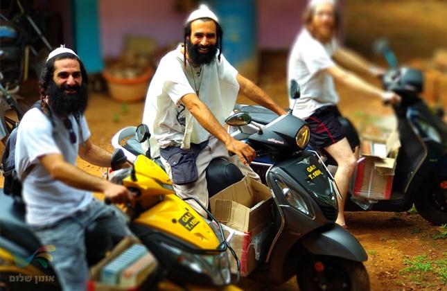 אלפי תרמילאים ישראלים בהודו נחשפים לספריו הקדושים של רבי נחמן מברסלב