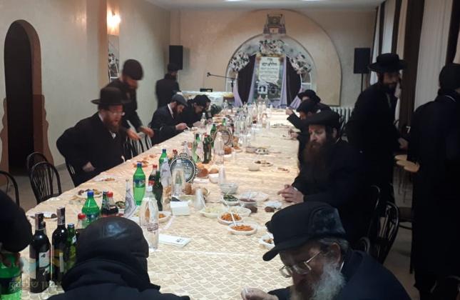 """כפר הנופש ז'יטומיר ערכו את סעודת היארצייט לכבוד המגיד ממעזריטש זי""""ע"""