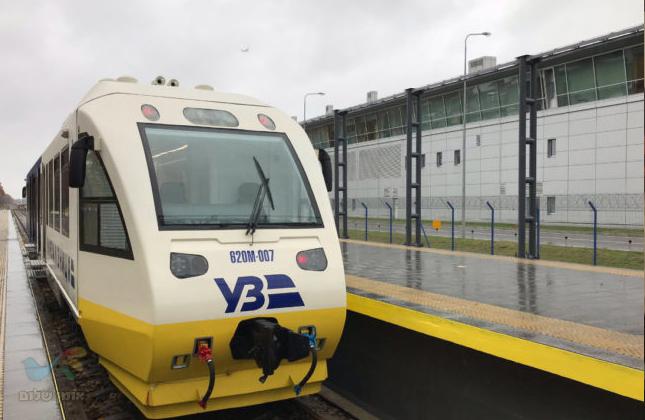 אוקראינה מציגה: רכבת אקספרס תחבר את נמל בוריספול עם מרכז העיר קייב