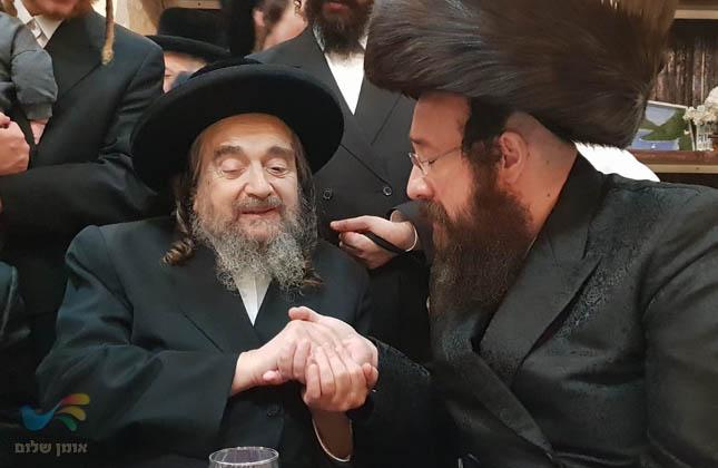 """הרה""""צ רבי יעקב מאיר שכטער שליט""""א בשמחת השבע ברכות לבת המשפיע"""