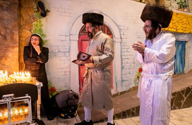 הקיבוץ הקדוש באומן דרך עדשת מצלמתו של הצלם אברומי בלום • צפו בגלרייה