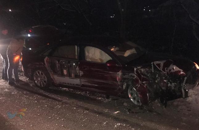 בהלה באומן: בשעות הלילה המאוחרות התקבל דיווח על תאונת דרכים קטלנית