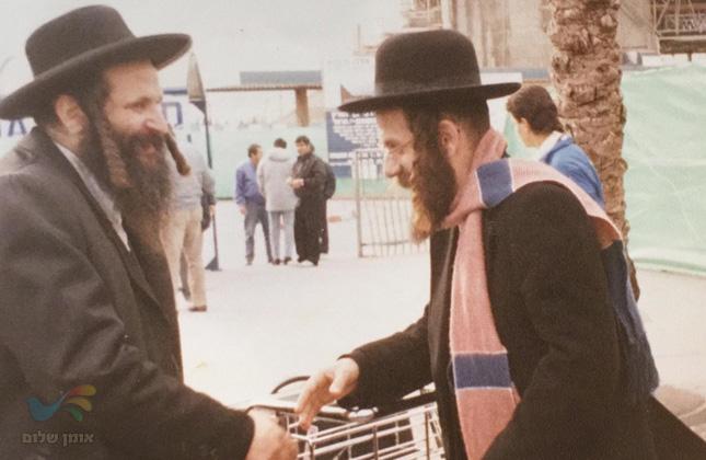 הרב יעקב גבאי והרב קעניג