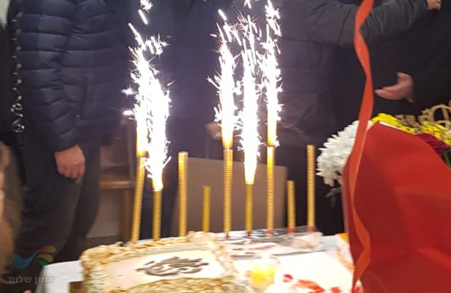 """קהילת אומן חגגה אמש יום הולדת לרב הקהילה הרב יעקב ג'אן שליט""""א"""