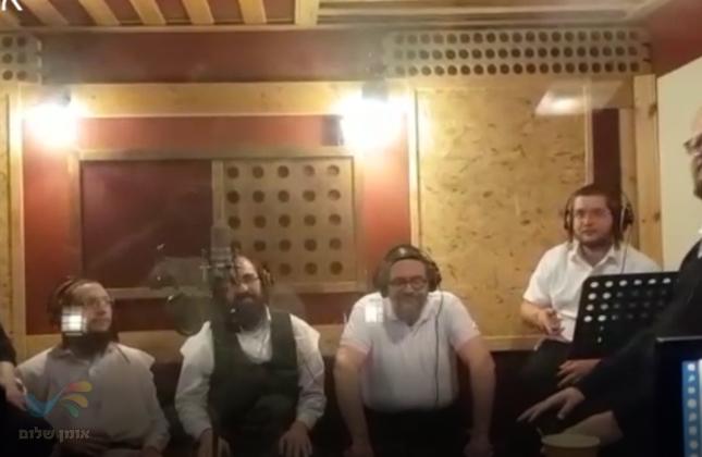 'אנן בחביבותא תליא': שיר מתורתו של רבי נחמן מברסלב מתבשל באולפן ההקלטות