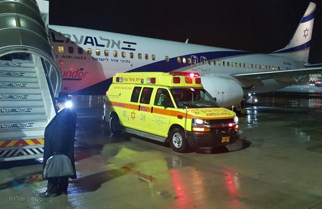 קידוש ה' בחזור מאומן: חסיד ברסלב נחלץ לסייע לאשה שנזקקה לטיפול רפואי בטיסה