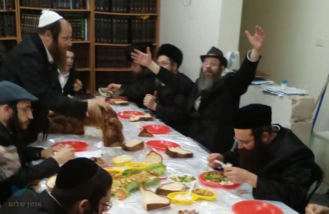 סעודת פורים וקיום מצוות היום עם אנשי שלומינו דחסידי ברסלב באשדוד