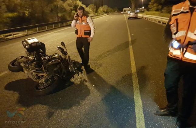 """ינון שלמה ז""""ל חסיד ברסלבכבן 19 נהרג הלילה בתאונה קשה בכביש מספר 1"""