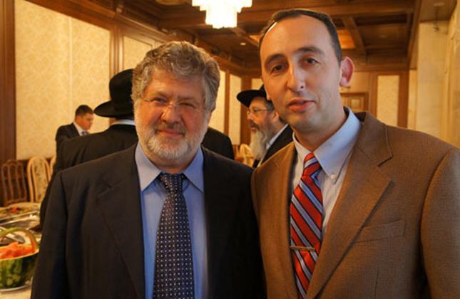 אוליגרך יהודי מציע לבנות גדר הפרדה באוקראינה כמו בישראל